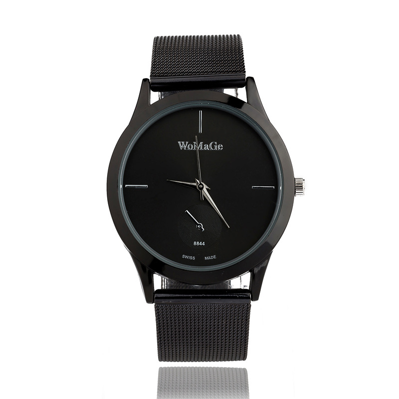 Watches Industrious Fashion Womage Mesh Steel Women Man Unisex Watches Dress Hour Gift Casual Watches Quartz Sports Watches Relogio Relojes Clocks