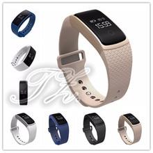 2016 Новый Сенсорный экран A09 Смарт-часы браслет кровяного давления кислорода сердечного ритма Мониторы шагомер Фитнес смарт-браслет
