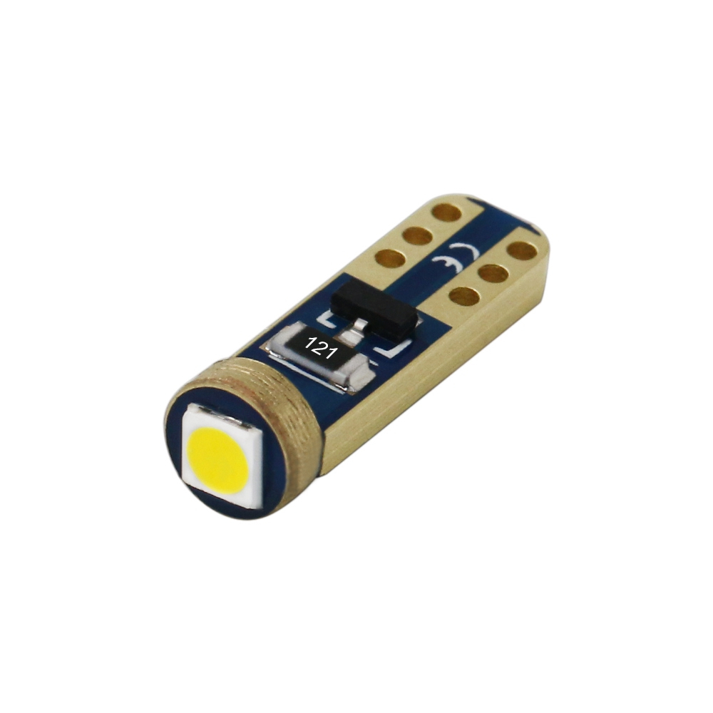 1 Piece Car Interior T5 Led 1 SMD DC 12V Bulbs Light Ceramic Dashboard Gauge Instrument Ceramic Car Auto Side Wedge Lamp in Signal Lamp from Automobiles Motorcycles