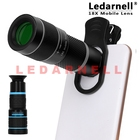Clip-on 18x Optical Zoom Mobile Phone Telescope Lens HD Telescope Camera Lens For Universal Mobile Phone High Quality