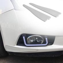 VODOOL 2pcs Soft Rubber Car Bumper Door Edge Anti-scratch Guard Protector Strips for Universal Car High Qualtiy Car Styling