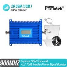 Lintratek ALC 2G 900 MHz ที่มีประสิทธิภาพโทรศัพท์มือถือสัญญาณ Booster GSM 900 8 Repeater Amplifier Voice Call สำหรับยุโรปและเอเชีย #7