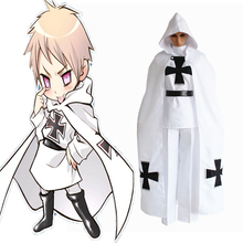 Anime Hetalia Axis Powers Cosplay Costumes Gilbert Beillschmidt Uniform Halloween Carnival Party Prussia