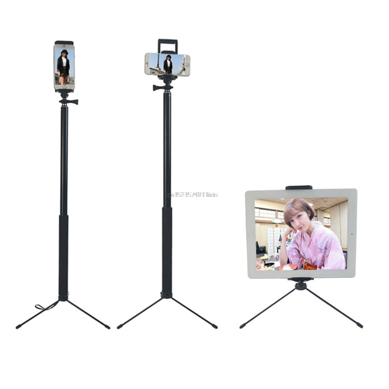 1.5m/2m Extendable Selfie Stick Tripod Stand for iPhone iPad DSLR Android Gopro 16