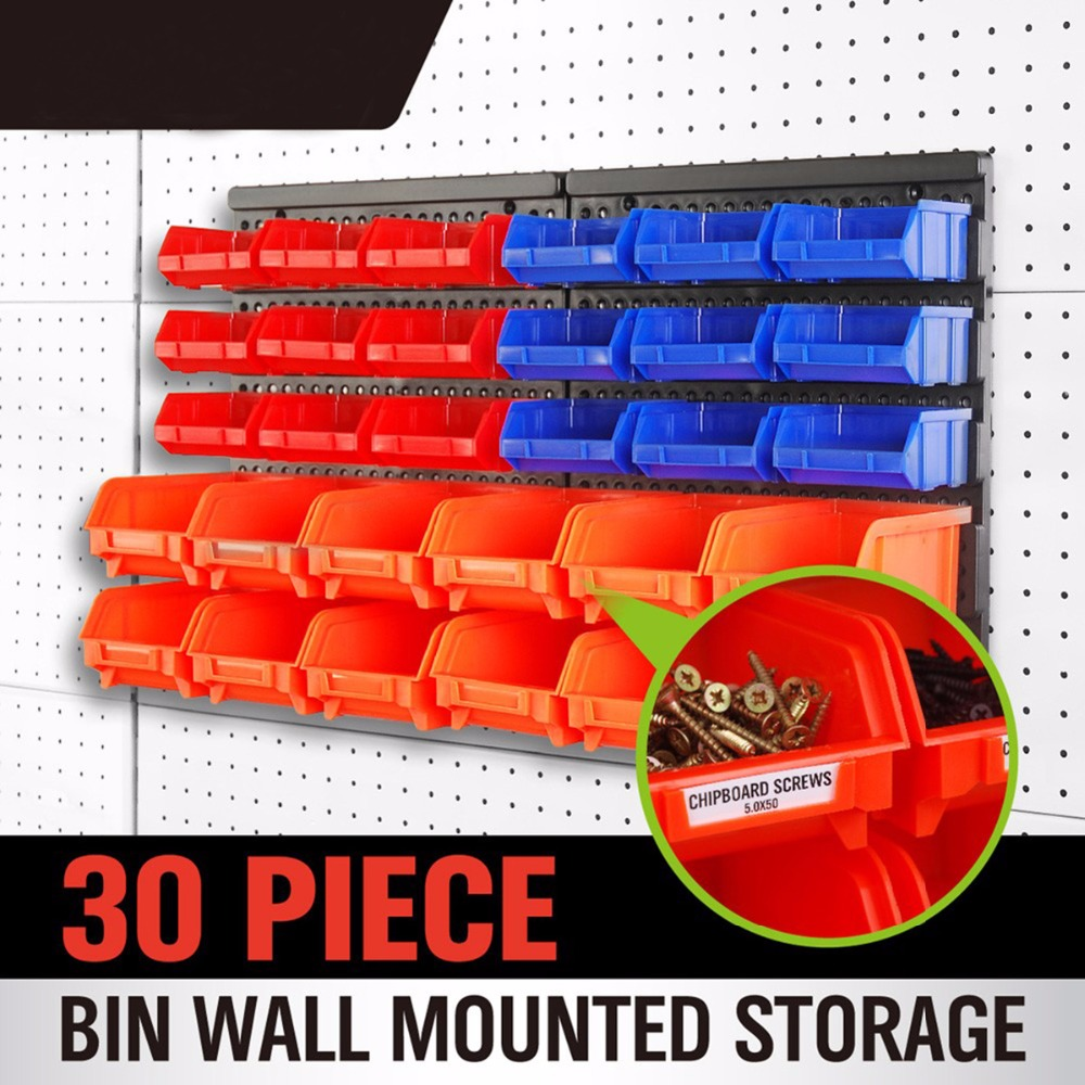 Free Shipping 30PC Colorful Portable Jewelry Tool Storage Box Container Ring Electronic Parts Screw Beads Organizer Plas AD1019 free shipping techone su29 800 3d epp kit version not include any electronic parts