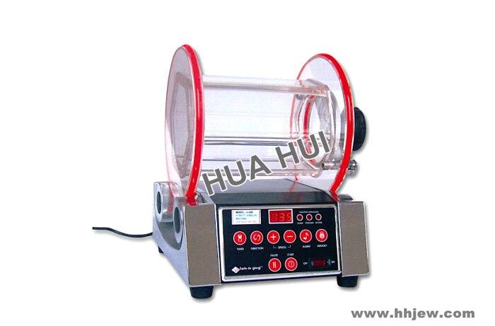 8kg 4 variable speeds Rotary Tumbler,Polishing Machine, Jewelry Making Tools Jewellery Polishing Magnetic Polisher