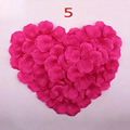 Don's Bridal Cheap Silk Rose Flower Petals 1000 pcs/lots wedding accessories Marriage Wedding Rose Petals Romantic Flower