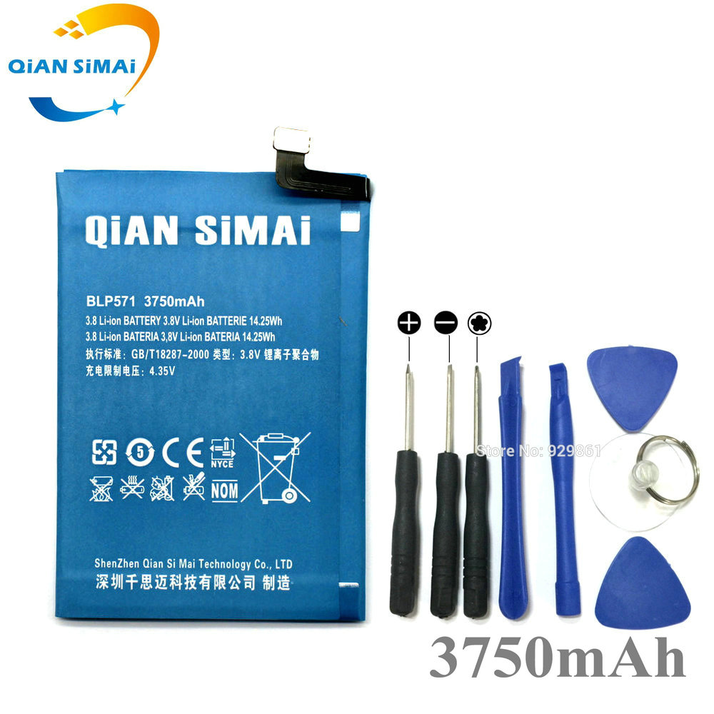QiAN SiMAi BLP571 3750mAh Battery + Repair Tools For OPPO Oneplus One 1+ One plus Phone 2017 New 100% High Quality +Track Code