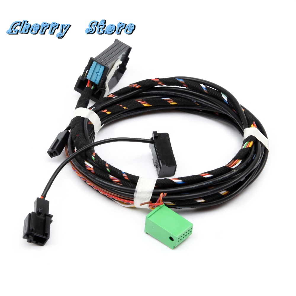new 1k8 035 730 d direct plug 9w2 bluetooth harness cable mircophone kit for vw golf jetta passat touran eos rcd510 car radio [ 1000 x 1000 Pixel ]