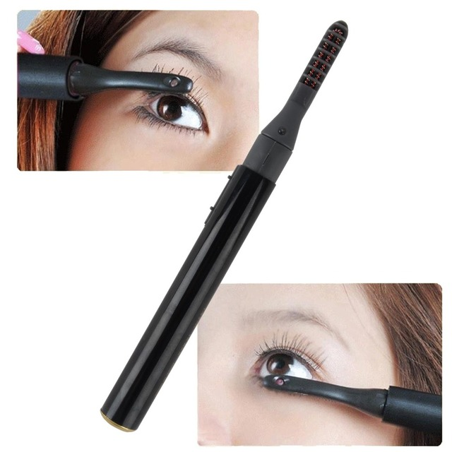 eyelash curler results. unique electric heated makeup eye lashes curling pen long lasting eyelash curler for natural beauty tools results