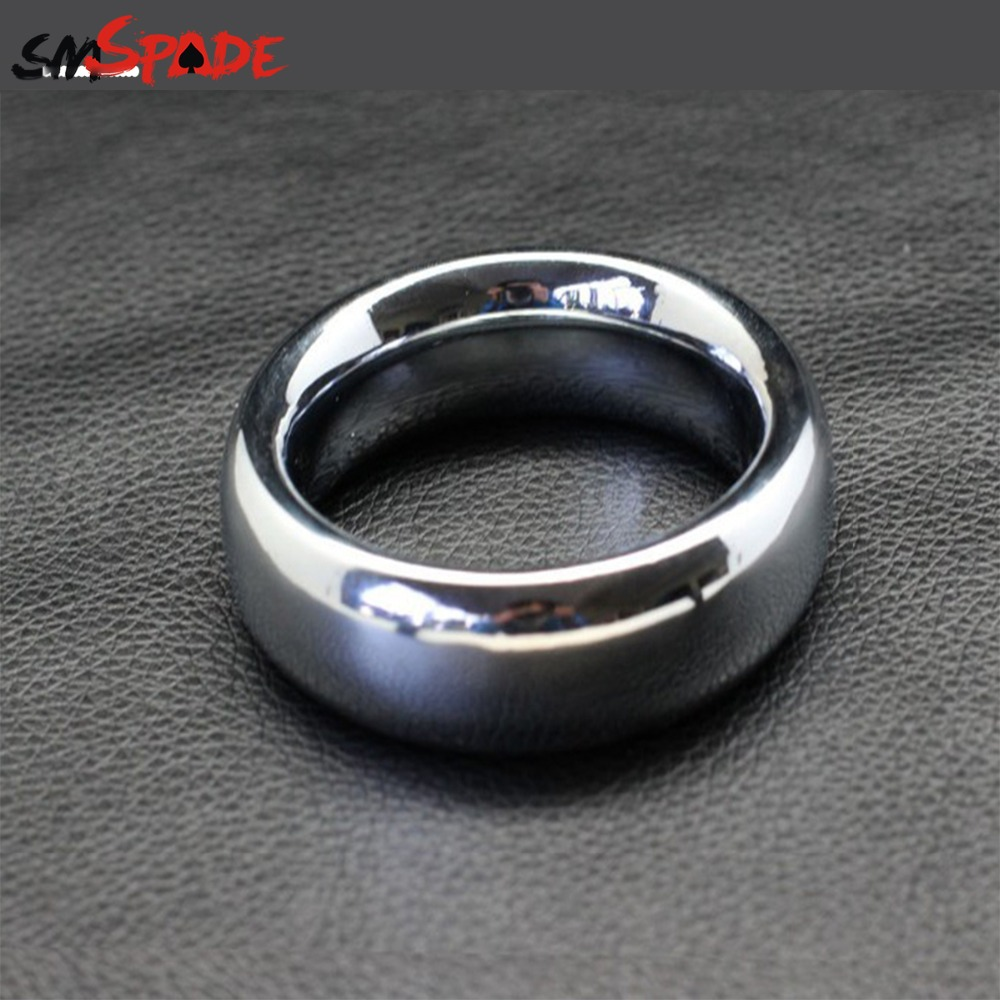 round metal cock ring, Alloy penis ring, 45mm/47mm/50mm, delay time penis loop for men, adult product