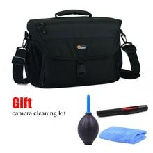 Heißer Verkauf Lowepro Nova 200 AW (Schwarz) + kamera reinigung kit Einzigen Schulter Tasche Kamera Tasche Kamera Tasche Zu Nehmen Abdeckung