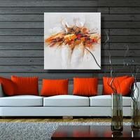 Hand Painted Modern Abstract Oil Painting on Canvas Sexy Girl Nude Wall Art for Living Room Decor Art Nude Women Oil Painting