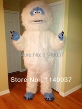 mascot  White Snow Monster Yeti Mascot Costume Customized Adult Size Abominable Snowman Monster Cartoon Character Mascotte