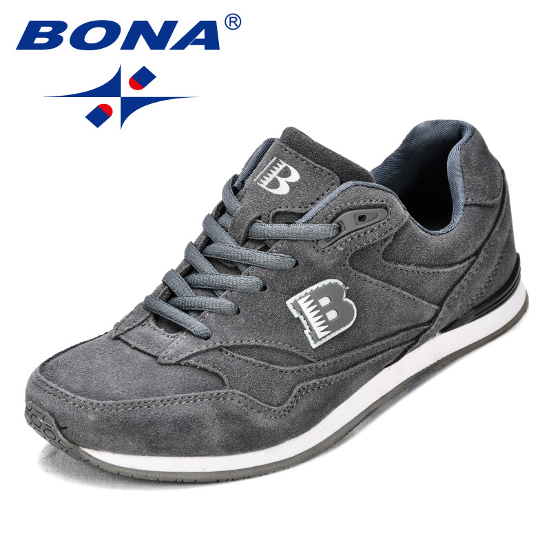 Image 2 - BONA New Classics Style Women Running Shoes Suede Leather 