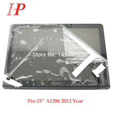 """New Glossy 2012 Year A1286 LCD Screen Assembly For Apple Macbook Pro 15"""" A1286 LCD LED Screen Assembly MD103 MD104"""