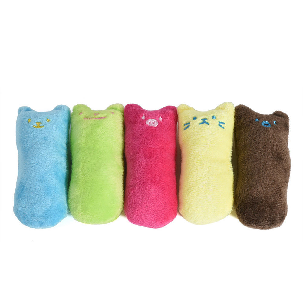 Cute Pillow Scratch Crazy Cat Kicker Catnip Toy Teeth Grinding Toys