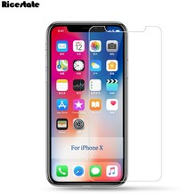 9H Tempered Glass For iPhone X XR XS MAX Screen Protector For iphone X XS XR 5 5S 6 7 8 Plus Glass Film Buy 2 pcs send case gift(China)
