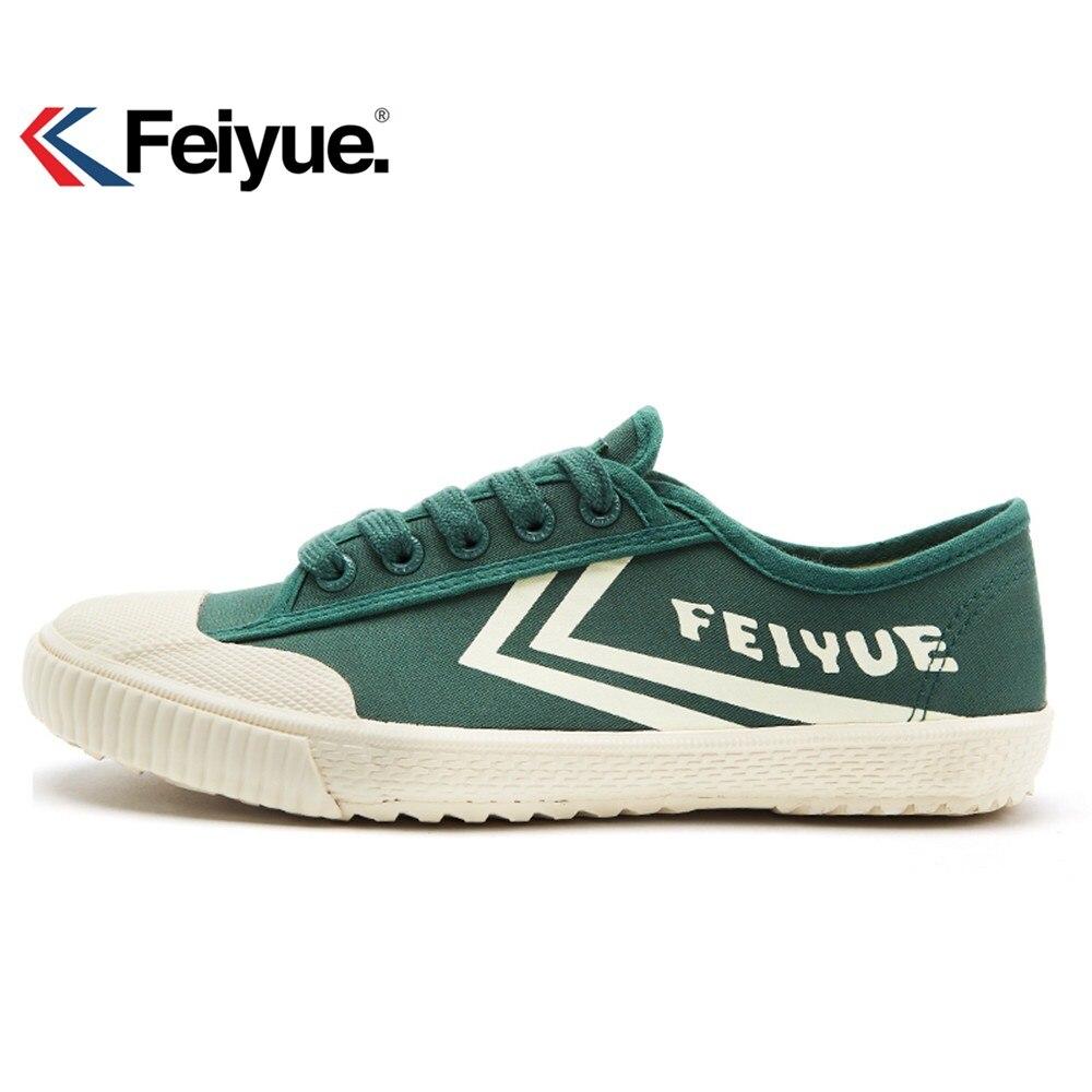 Feiyue Men Women Shoes Classics Shoes Canvas Rubber Lace-Up Shoes Sneakers