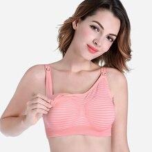 New women Maternity Bra Cotton For Nursing Push Up Hands Free Breast Pump Feeding Underwear Hot