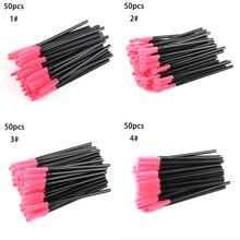 50Pcs/Pack Disposable Eyelash Brush Mascara Wands Curly Eyel