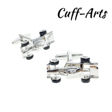 Cufflinks for Men Racing F1 Car Mens Cuff Jewelery Gifts Vintage With Gift Box by Cuffarts C10309