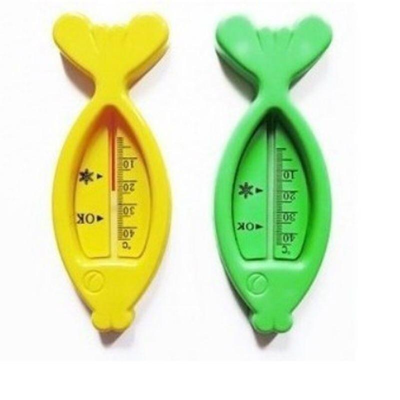 1PCS Kids Cute Air Sensor Thermometer Plastic Floating Fish Toys Bath Tub Water