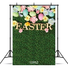 SHENGYONGBAO  Art Cloth Custom Photography Backdrops Prop Easter day Theme Photography Background 10952 стоимость