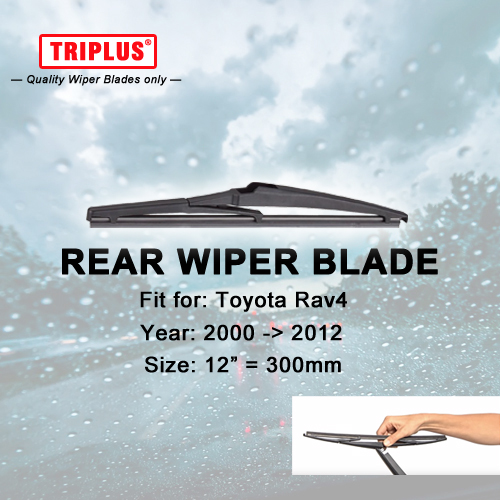 Rear Wiper Arm and Blade for TOYOTA RAV4 2000-2012 30cm