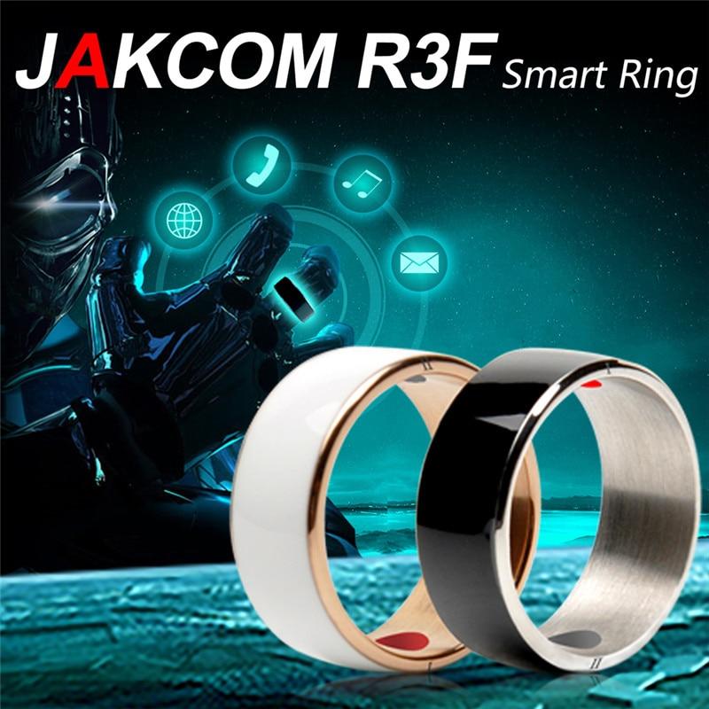 Jakcom R3F Smart Ring impermeable alta velocidad NFC Electronics teléfono con android wp teléfonos Pequeño anillo mágico