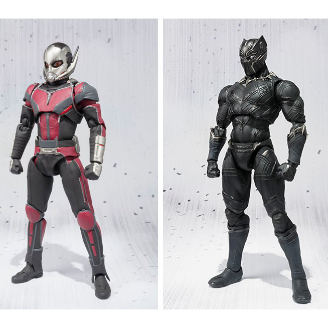 Super Hero Ant-Man Black Panther movable Action figure Figma Collectible Model Toys For Gift N134 26cm crazy toys 16th super hero wolverine pvc action figure collectible model toy christmas gift halloween gift