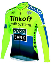 2019 New Tinkoff Pro Cycling Jersey Long Sleeve Ropa Ciclismo Team Autumn Bike Clothing Bicycle Shirt Maillot MTB Clothes Jacket недорго, оригинальная цена