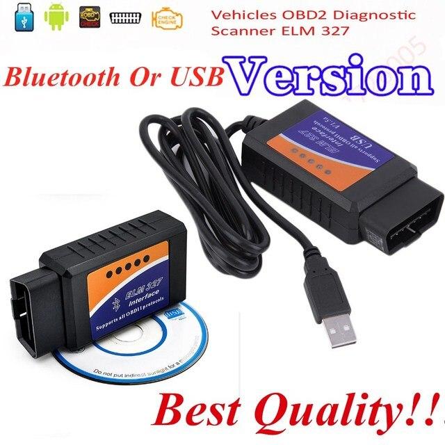 US $4 41  Super ELM327 USB Cables Adapter For Most OBD2 Vehicles OBD2  Diagnostic Scanner elm 327 v 1 5 bluetooth OBD2 Scan Free Shipping-in Code
