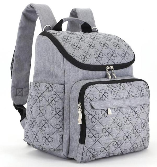 Promition! Brand Designer Large Capacity Mummy Maternity Baby Care Nappy Bag Travel Backpack Designer Nursing Bag