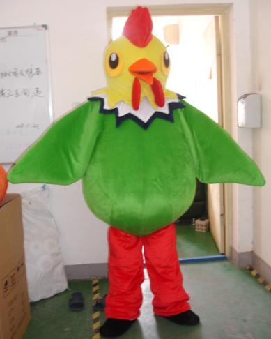 Huhn Maskottchen Kostüme Cock Rooster Hen Cartoon Bekleidung Werbung Kostüm Halloween Partei-abendkleid Mascotte Adulte