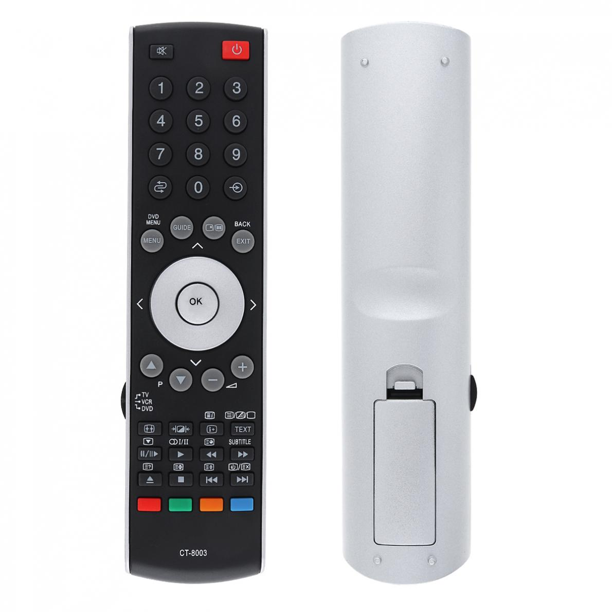 Replacement 433MHz IR CT-8003 Advanced TV Remote Control with Long Control Distance for CT-90314 - 37XV500A 42XV500A  46XV500A