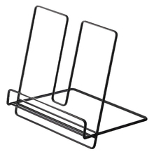 Practical Storage Students Stationery Durable Cookbook Stand Kitchen Book Eco Friendly Rest Rack Iron Wire Baking Tool