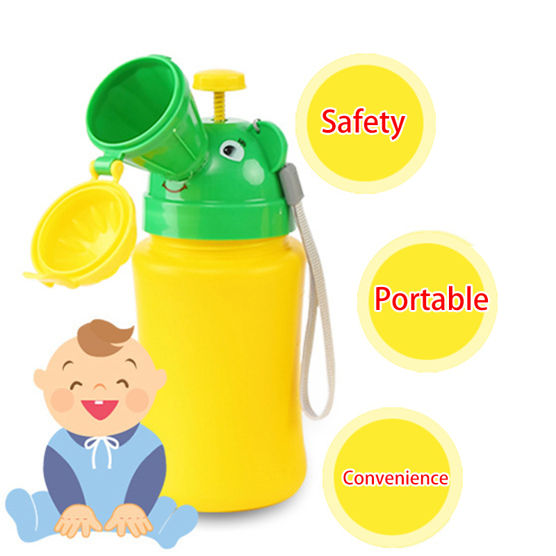 Toddlers Pee Baby Potty Training Urinal Pee Toilet Urinal For Children Car Portable Travel Pee Emergency Toilet For Kids Potty