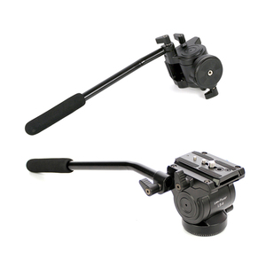 Image 5 - XILETU Professional Video Camera Fluid Drag Tripod Head with Quick Release for DSLR Camera Camcorder Shooting Q19813