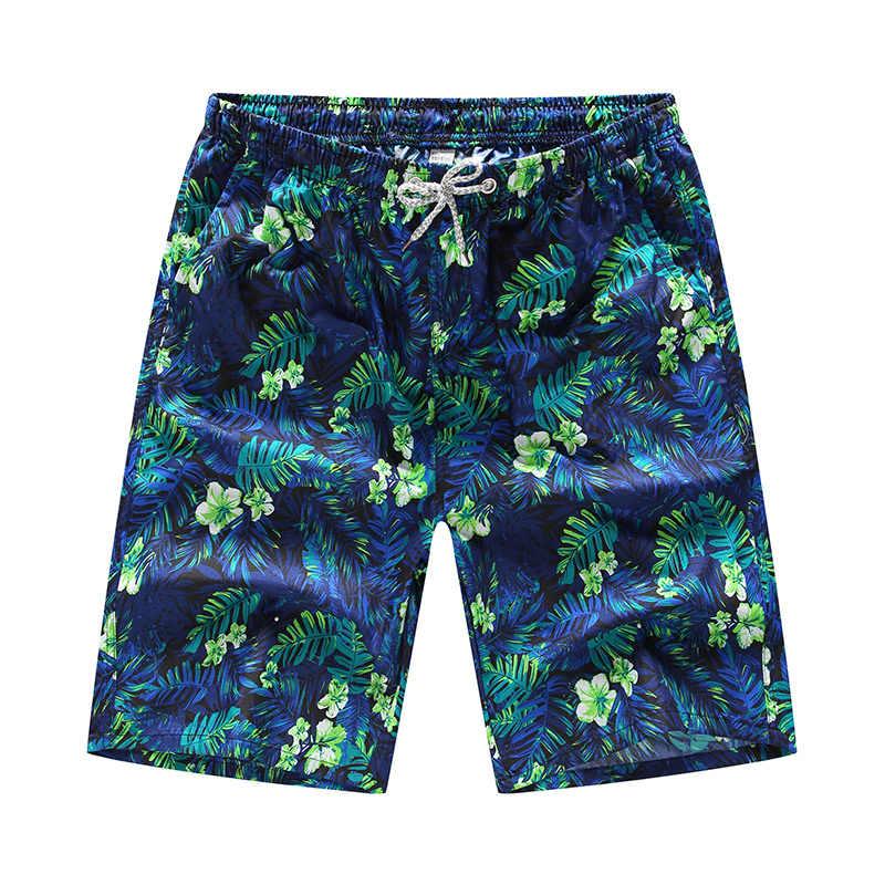 2020 calções de praia de verão calções de praia shorts de banho de secagem rápida impressão calções de banho