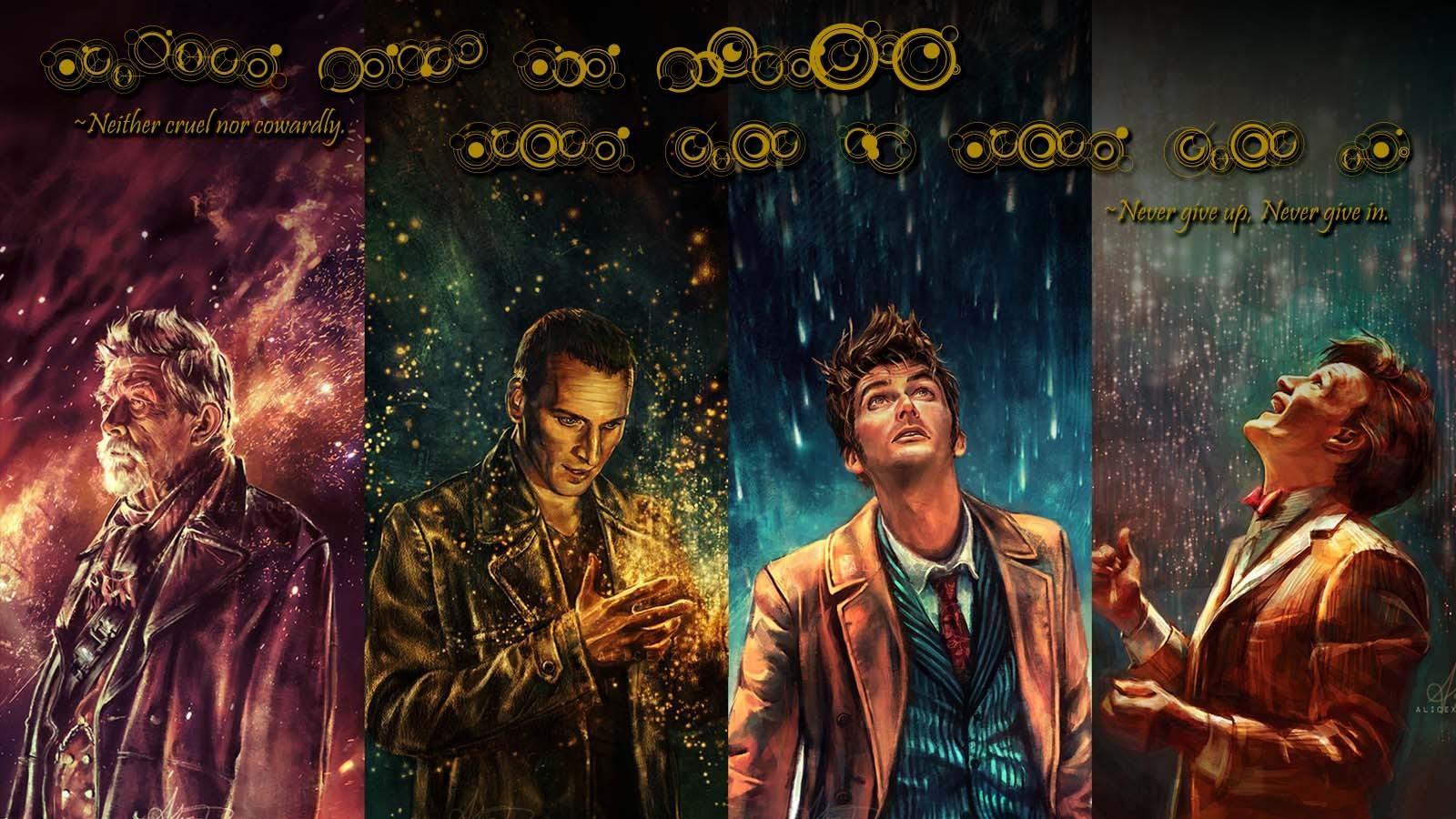 Doctor Who Desktop Wallpaper Hd: Doctor Who Hurt Christopher Eccleston David Tennant Matt