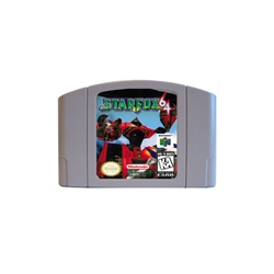 Starfox USA Version 64Bit Game Cartridge image