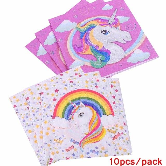 Birthday Unicorn Party Paper Napkin Unicorn Servilletas Decoupage Baby  Shower Napkins Tissue Napkins Event Party Supplies