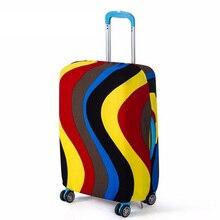Крышка Камера Протектор путешествия чемодан охватывает эластичный защитный кожух для 18-30 дюймов чемодан троллейбус случае багажник чехол (крышка)