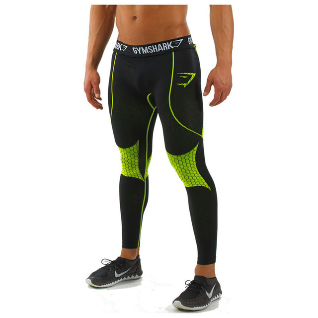 Brand Clothing Mens Compression Tights Pants Trousers Joggers Pantalones Hombre Gymshark Sweatpants
