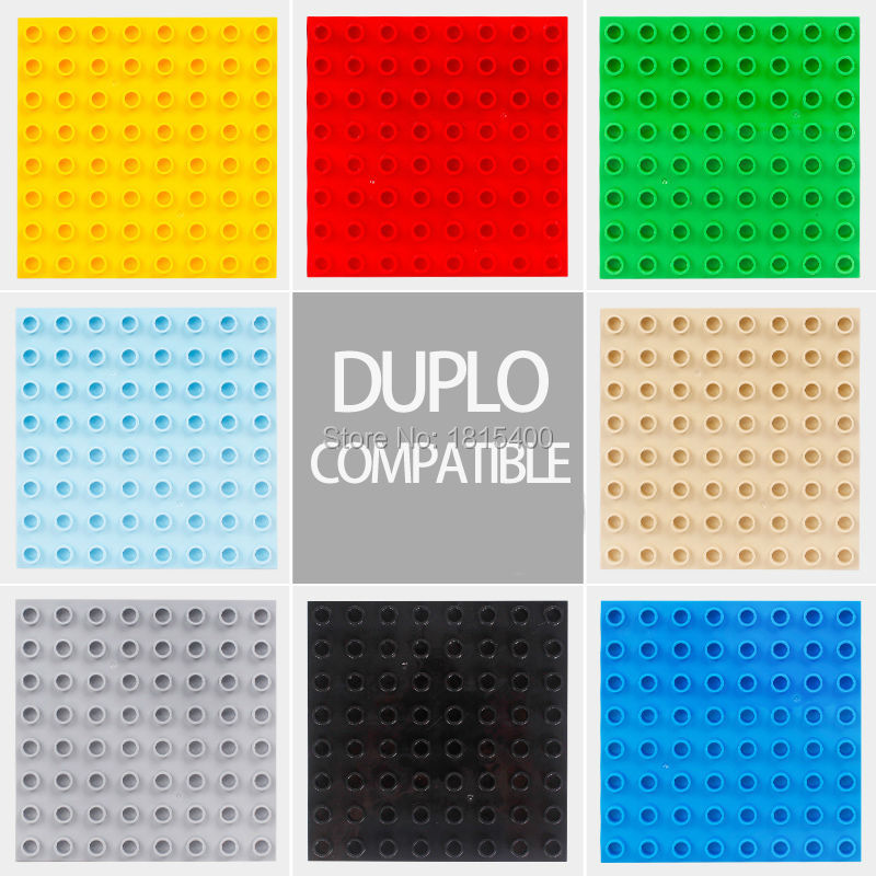 Baby Toys Large Plastic Bricks Parts Educational Building Blocks Compatible With Lego Duplo DIY Toys For Children 3 4 Years Old 95pcs happy town building blocks diy early learning baby girls toys self locking bricks educational toys compatible with duplo
