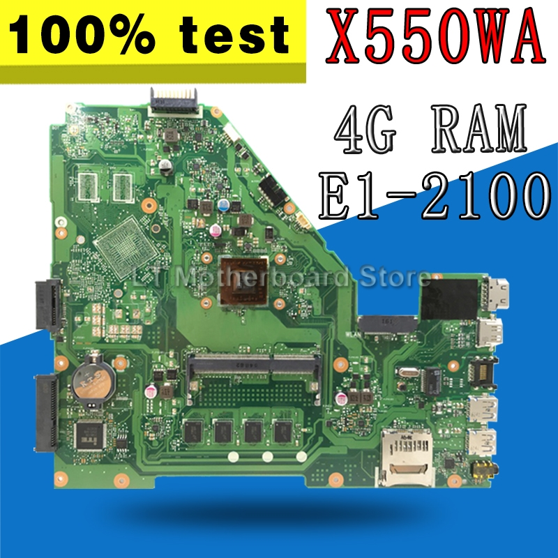 X550WAK X550WA X550WE X552W _4G/E1 2100/AS 2 cores