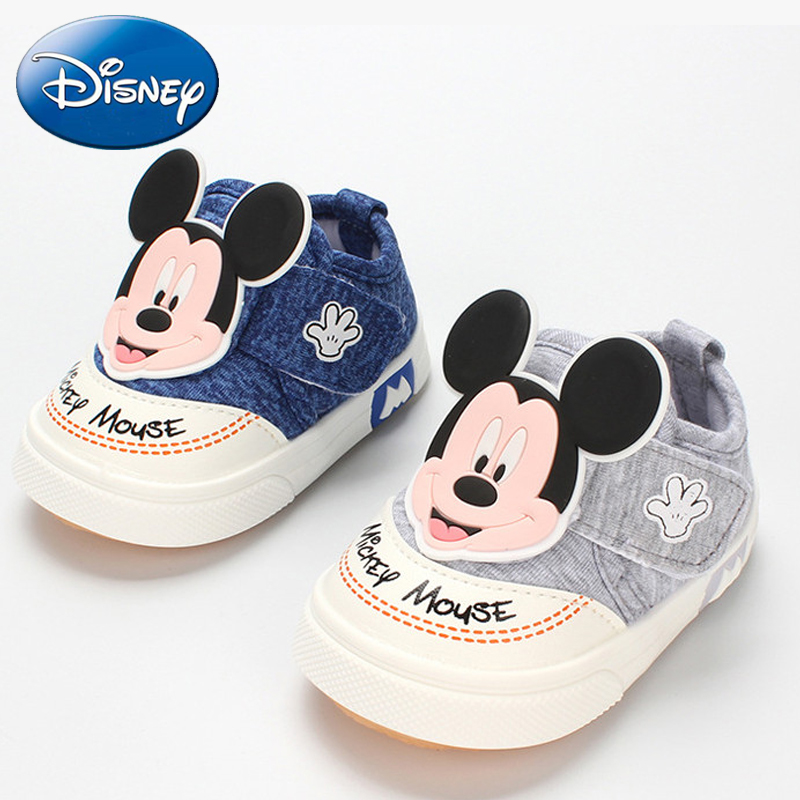 2019 Disney New Baby Casual Shoes Girl Mickey Kids Beach Shoe Baby Child Fashion Sports Running Casual Boys Non-slip Breathable