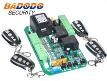 Sliding gate opener AC motor control unit PCB controller circuit board electronic card with pedestrian mode soft start