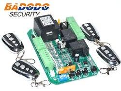Universele schuifpoort opener AC motor control unit PCB controller printplaat elektronische kaart met voetganger modus soft start